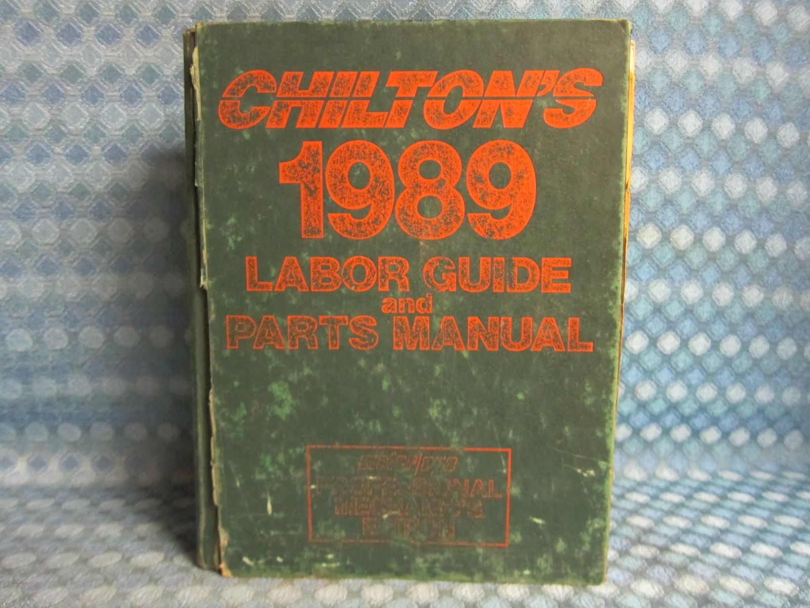 1985 1989 chiltons original labor guide parts manual gm ford rh nostexasparts com Work Labor Guide gm labor time guide online