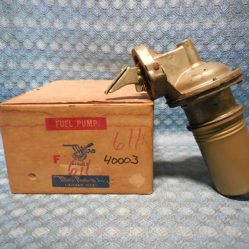 1963 64 65 66 Ford Truck Fairlane Mercury Meteor 6 Cyl Fuel Pump NORS