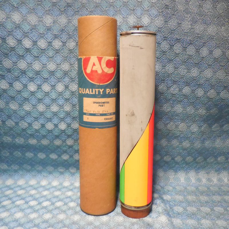 1960 Oldsmobile NOS AC Speedometer Indicator Cylinder Assembly 88 98 # 1588403