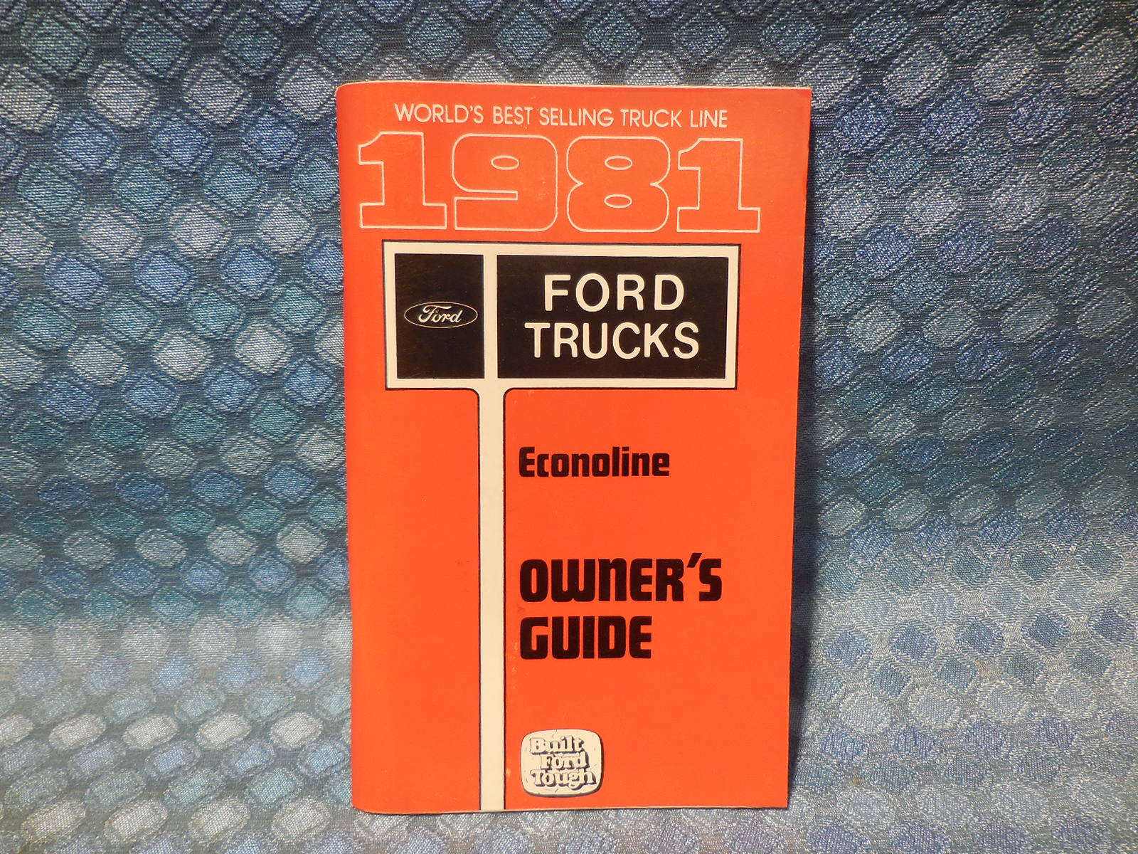 ford econoline van nos owners manual guide nos