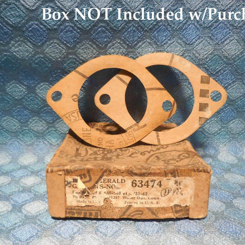 1931-1950 Nash Pair of NORS Water Outlet Connection Gaskets