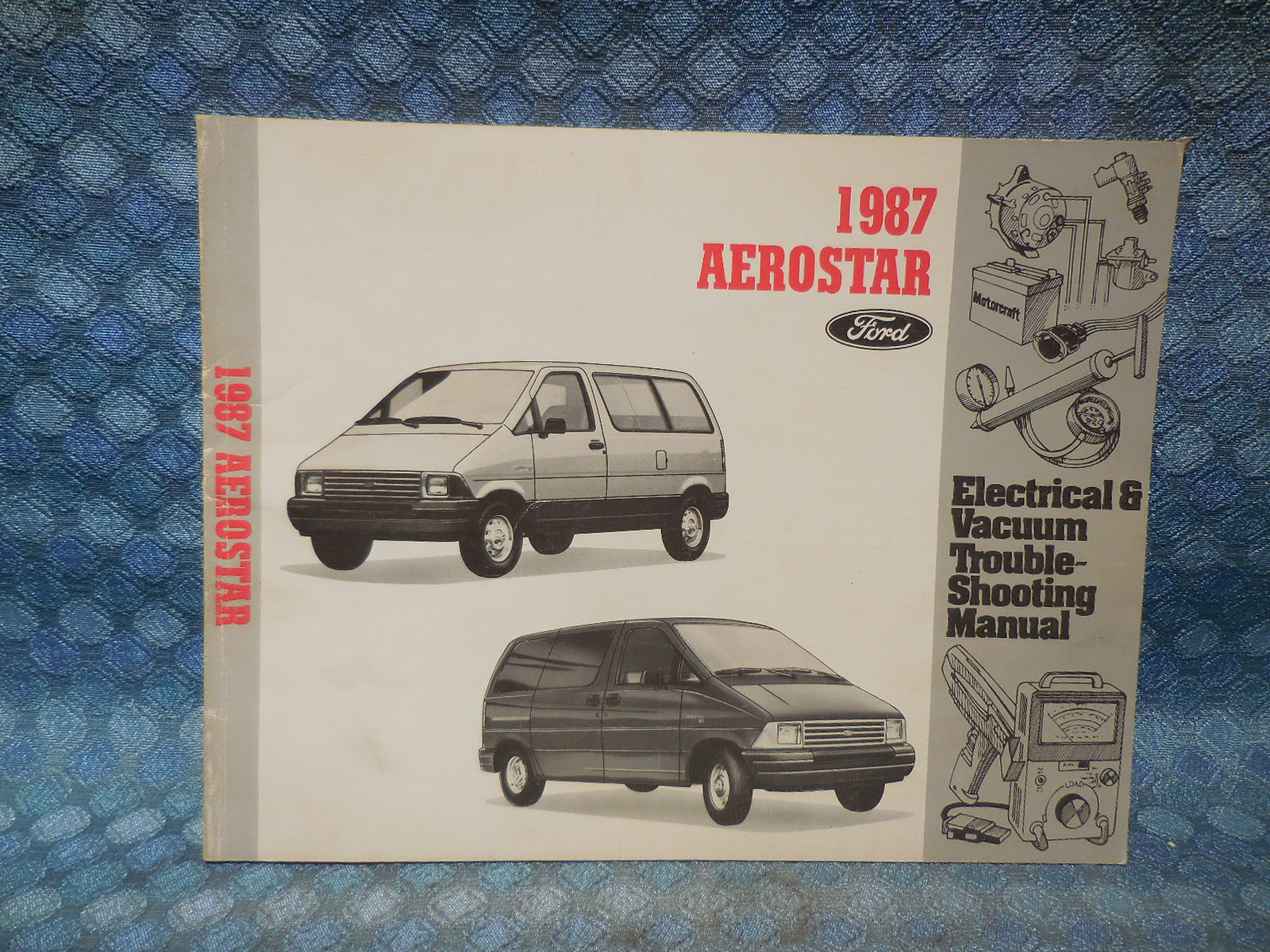 1993 Ford Aerostar Electrical And Vacuum Troubleshooting Manual