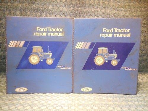 1981-1986 Ford Series 10 Tractor Original OEM Shop Repair Manuals 2 Volume Set
