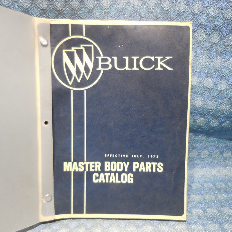 1940-1970 Buick Original Master Body Parts Catalog 41 47 49 51 53 55 57 65 67 69