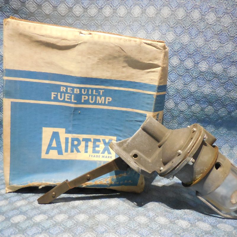 1955 Ford Truck 256 V8 NORS Fuel Pump w/ Glass Bowl Filter # 4210