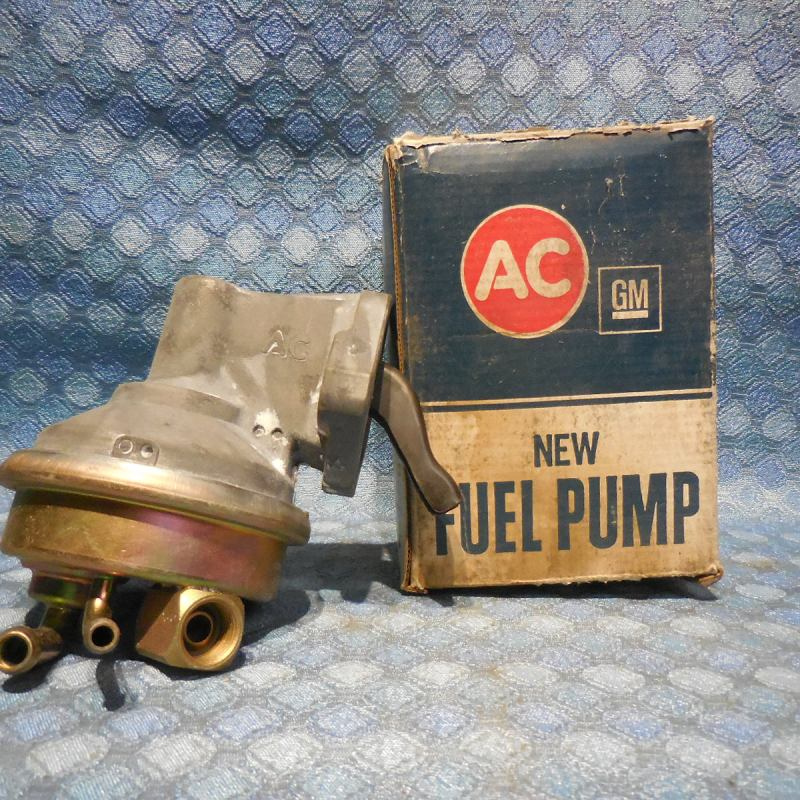 1973-1974 Chevrolet V8 NOS AC Fuel Pump #40986 Chevelle Monte Carlo Nova SEE AD