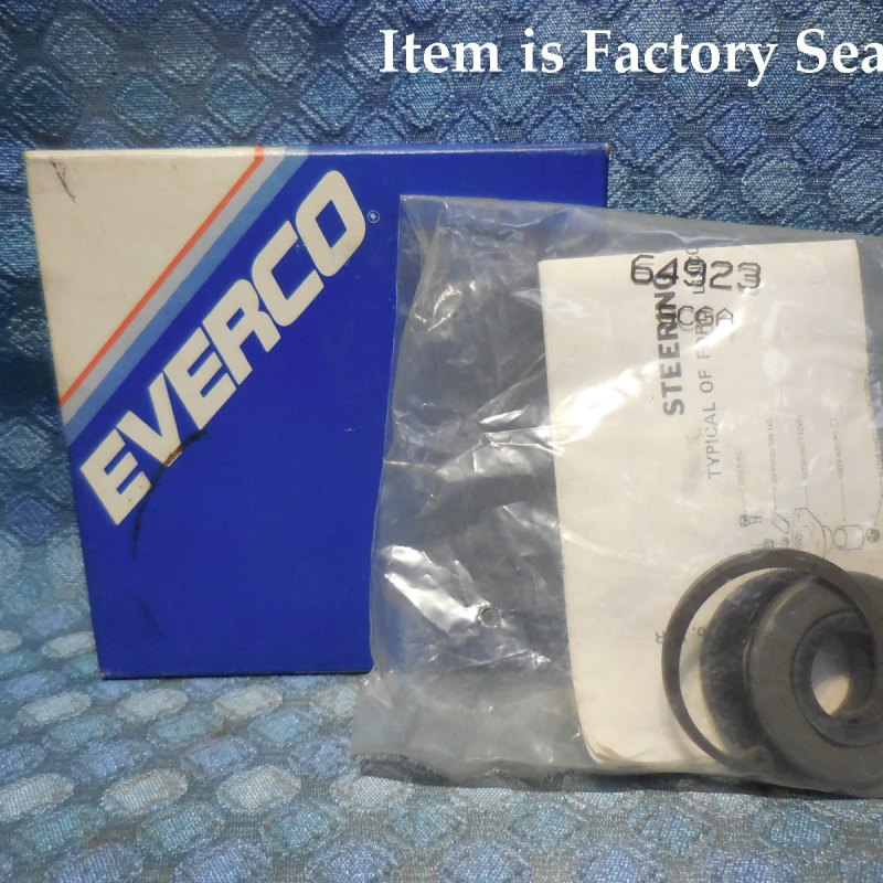 1965-90 Lincoln 67-90 Ford Mercury Steering Gear Adjuster Plug Kit 64923 SEE AD