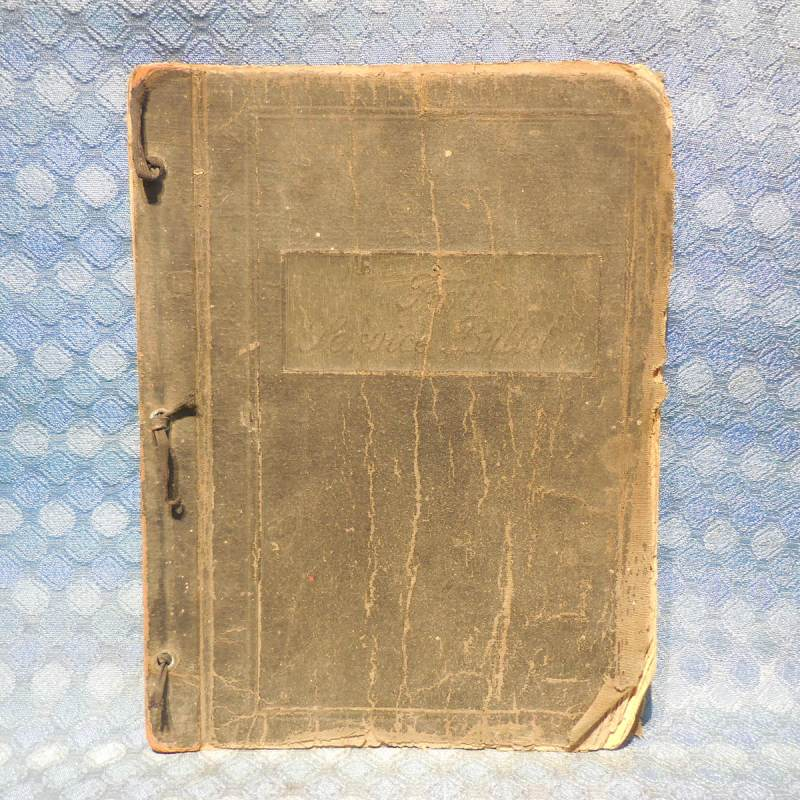 1940 & 1941 Ford Parts Original Price Lists in old Service Bullitens Cover