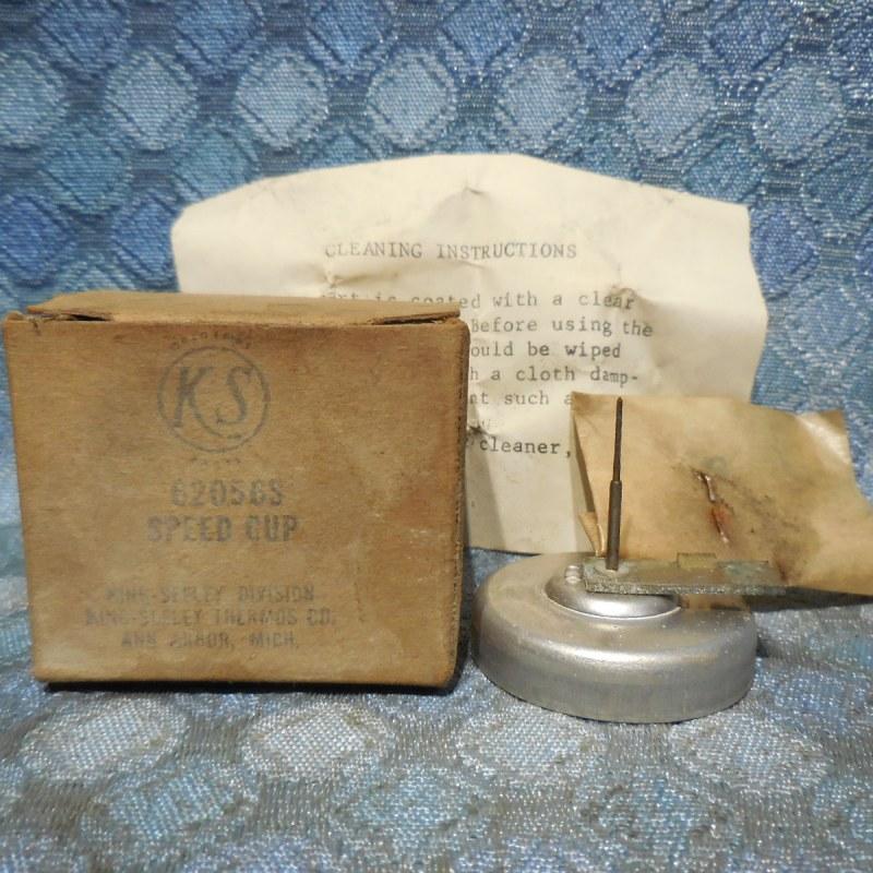 1963 1964 Mercury NOS King Seeley Speedometer Speed Cup # 62056-S