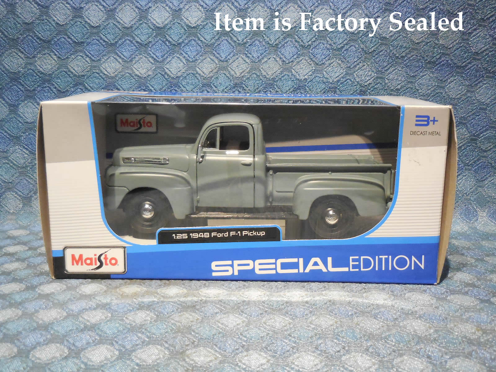 1948 Ford F 1 Pickup New Maisto 125 Scale Model In Gray Nos Texas Master Cylinder