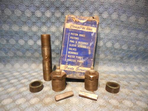 1941-1946 Studebaker NORS McQuay-Norris Upper Control Arm Outer Shaft Kit 1942