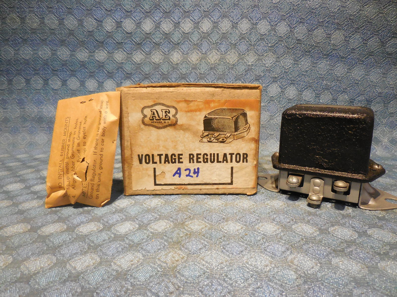 1939 Ford Voltage Regulator Wiring Electrical Diagrams 1938 Diagram Dodge Plymouth Fargo Nors Vrd 4002 B Header Panel