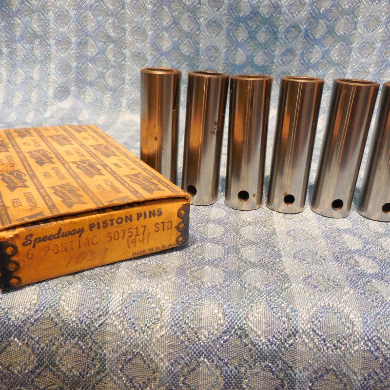 1935-1952 Pontiac 6 Cyl NORS Piston Pin Set 36 37 39 40 41 47 48 49 51 # 507517