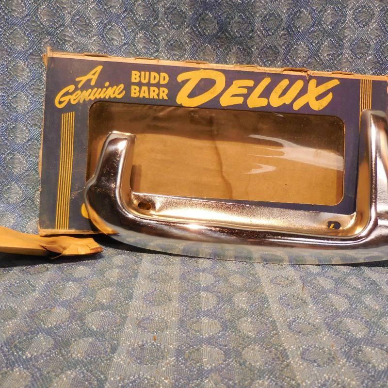 1949 Ford Passenger NORS Deluxe Gas / Fuel Door Guard