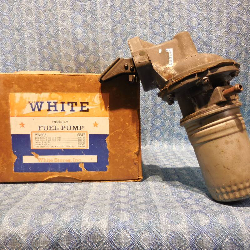1963 1964 1965 Ford & Mercury NORS 6 Cyl Fuel Pump # 6837