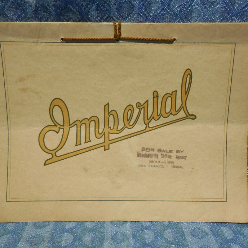 1911 Imperial Automobile Co. Jackson Michigan Original Sales Booklet (SEE AD)
