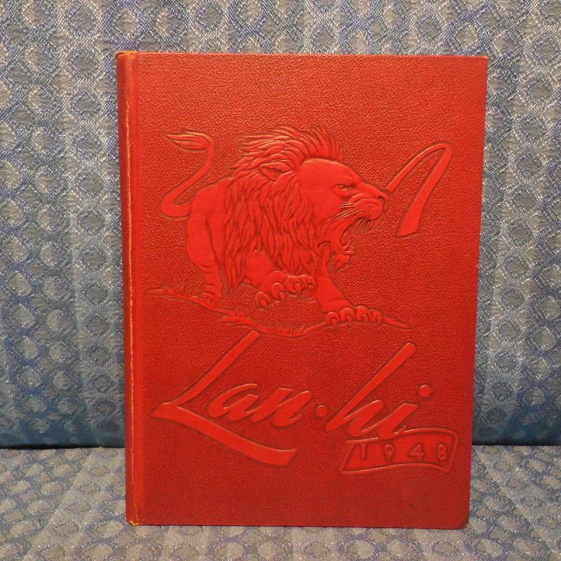 1948 Lan.Hi Yearbook Lanphier High School Springfield Illinois Original