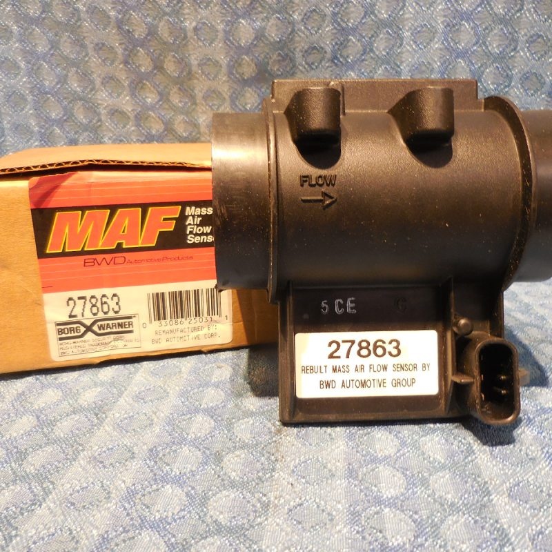 1985-1986 Buick Oldsmobile 3.8L NORS Mass Air Flow Sensor #27863