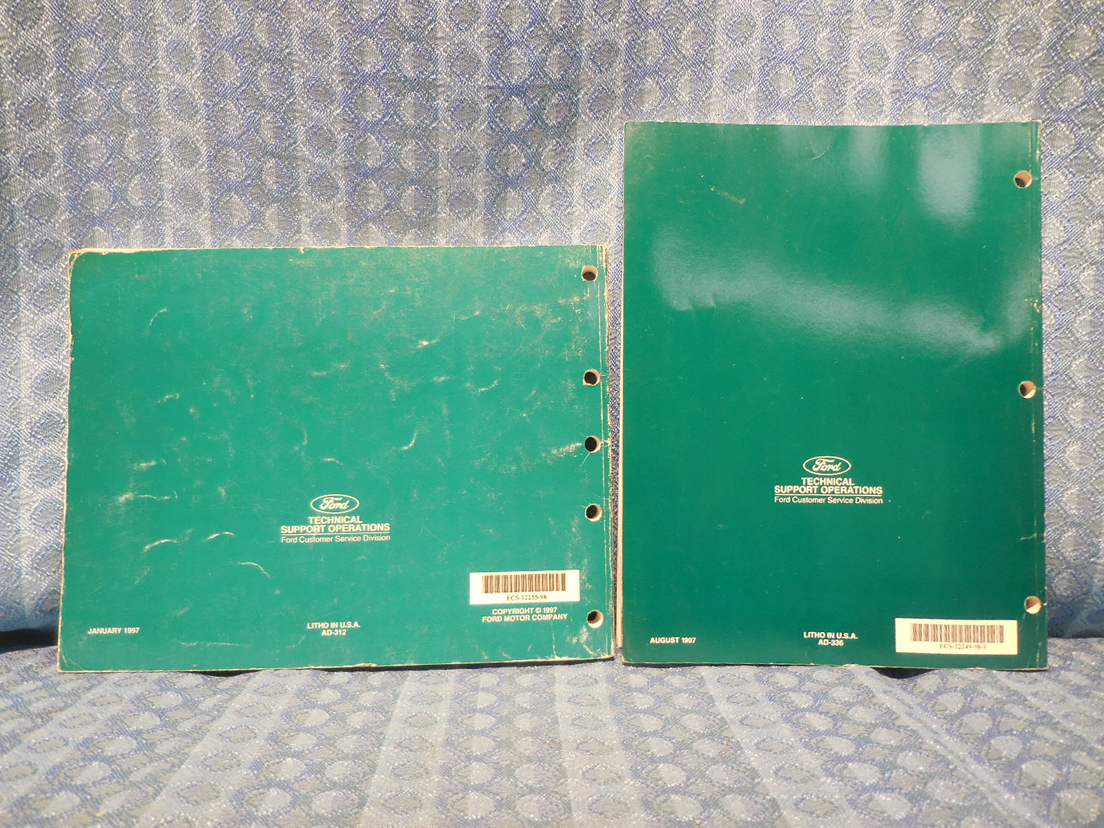 1998 Ford Windstar Original OEM Electrical Vacuum & Troubleshooting Manual  2 Vol