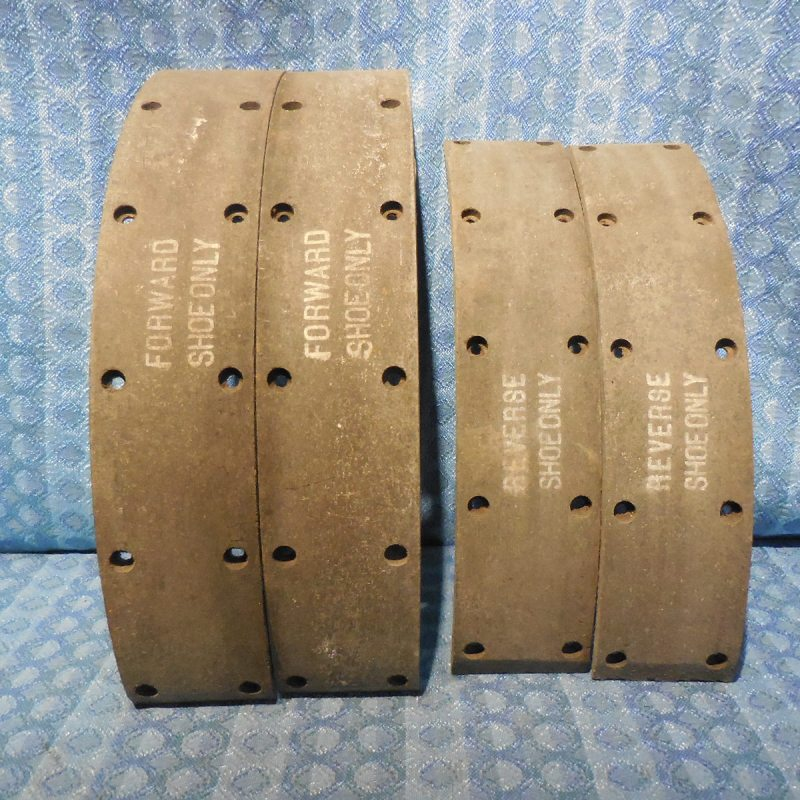 1934-1942 Dodge Truck NORS Front Wheel Brake Linings #PG-1126 (SEE AD) 35 36 37