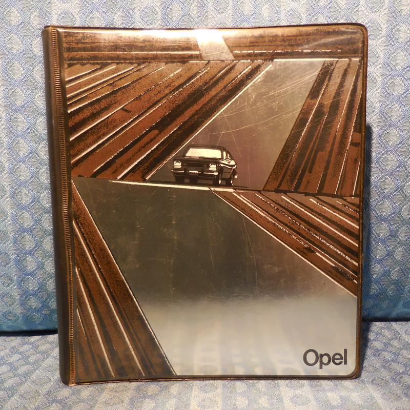 1979 Opel Original Salesman's Product Information Manual