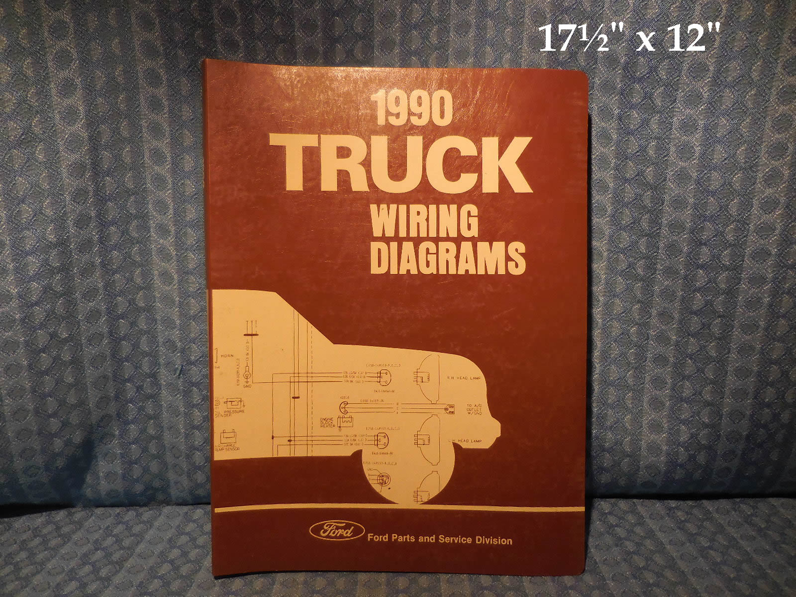 1990 ford truck oem wiring diagrams f series econoline bronco cl rh nostexasparts com  1990 ford l9000 wiring schematic