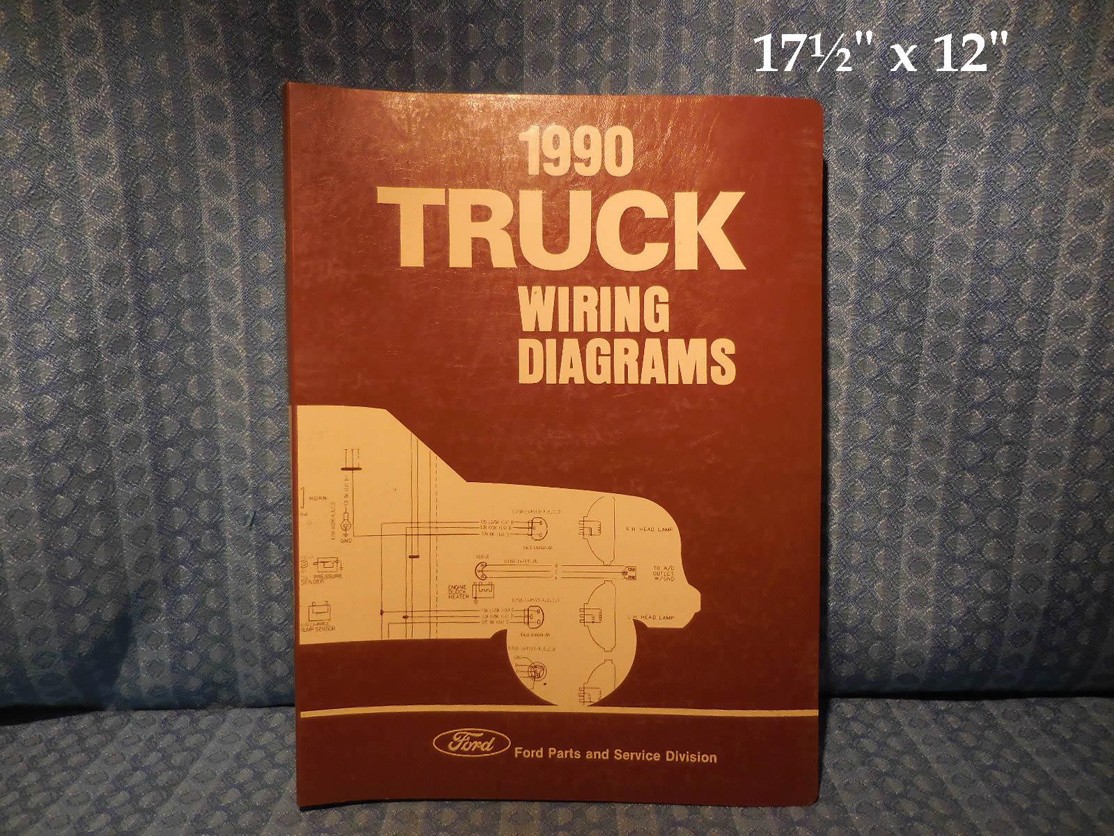 1990 ford truck oem wiring diagrams f series econoline bronco cl rh nostexasparts com