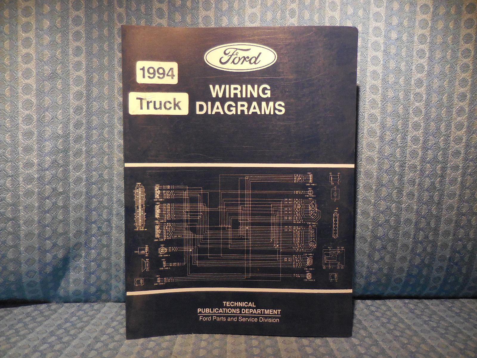Ford F600 Starter Wiring Diagram Detailed Schematics 2003 7 3 Diesel 1994 Truck Oem Diagrams 800 Ranger Econoline L Toyota Sequoia