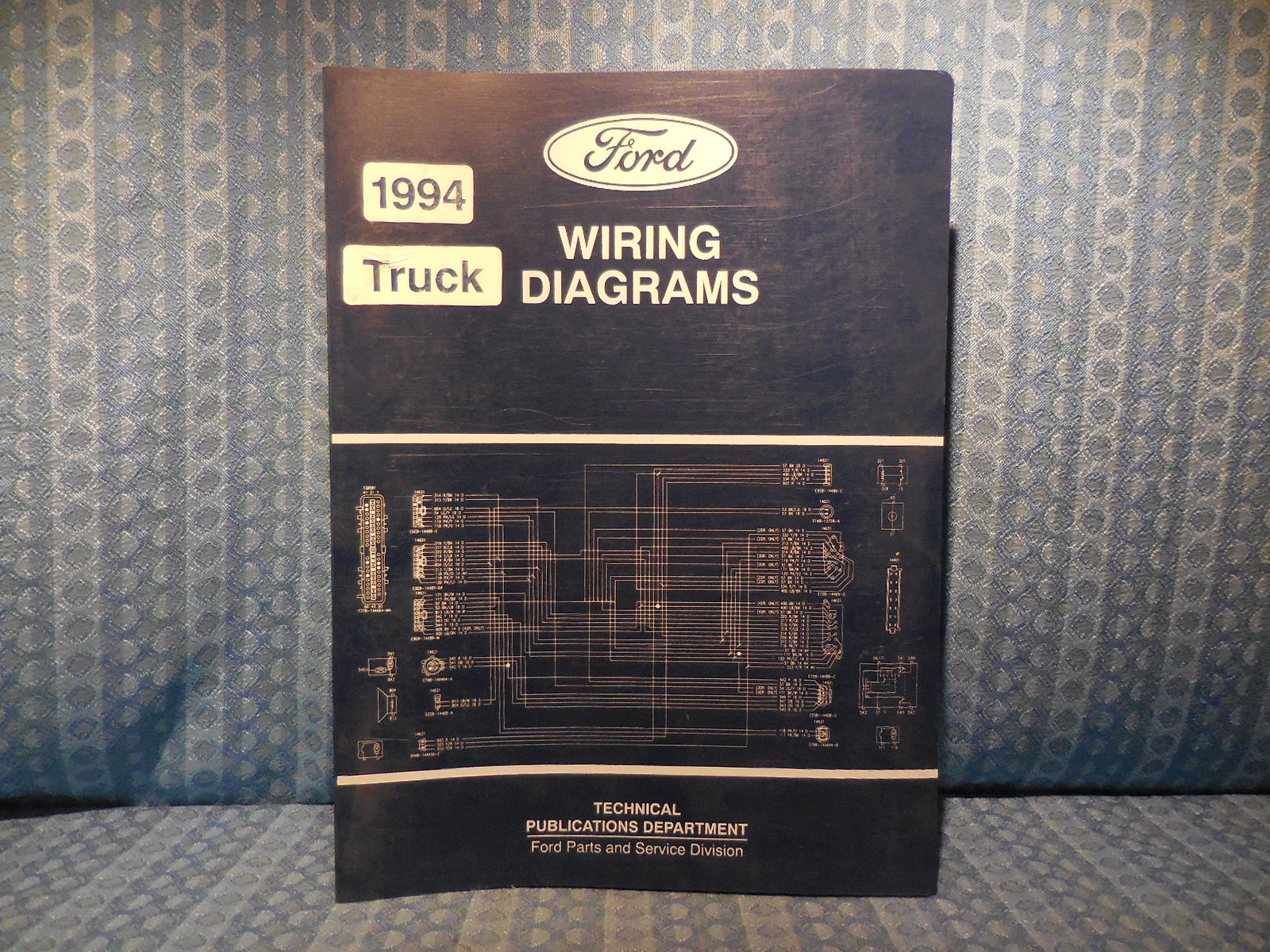 1994 Ford Truck OEM Wiring Diagrams F600-800 Ranger Econoline L Series  Explorer