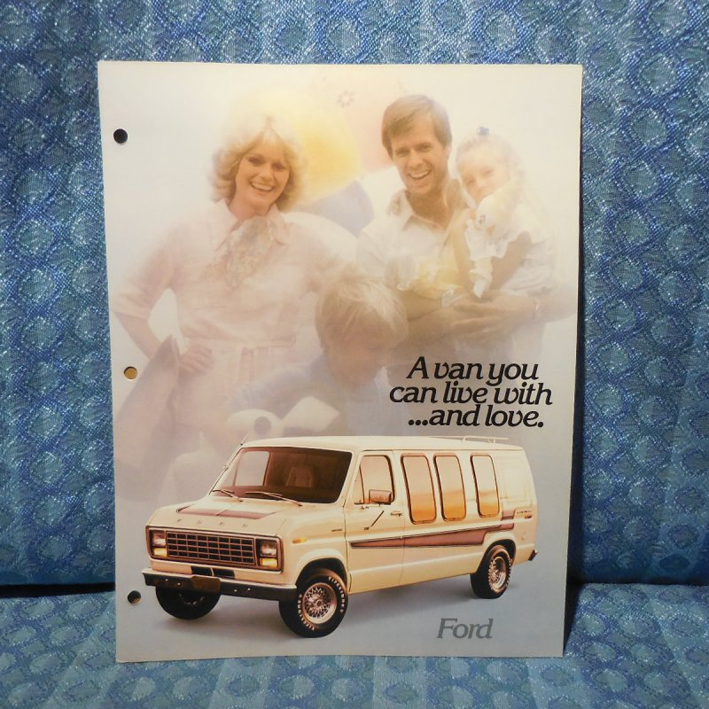 1979 Ford Van Conversion by Jayco Original Sales Brochure