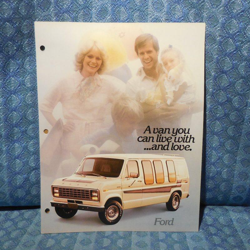 1979 Ford Van Conversion by Jayco Original Sales Brochure