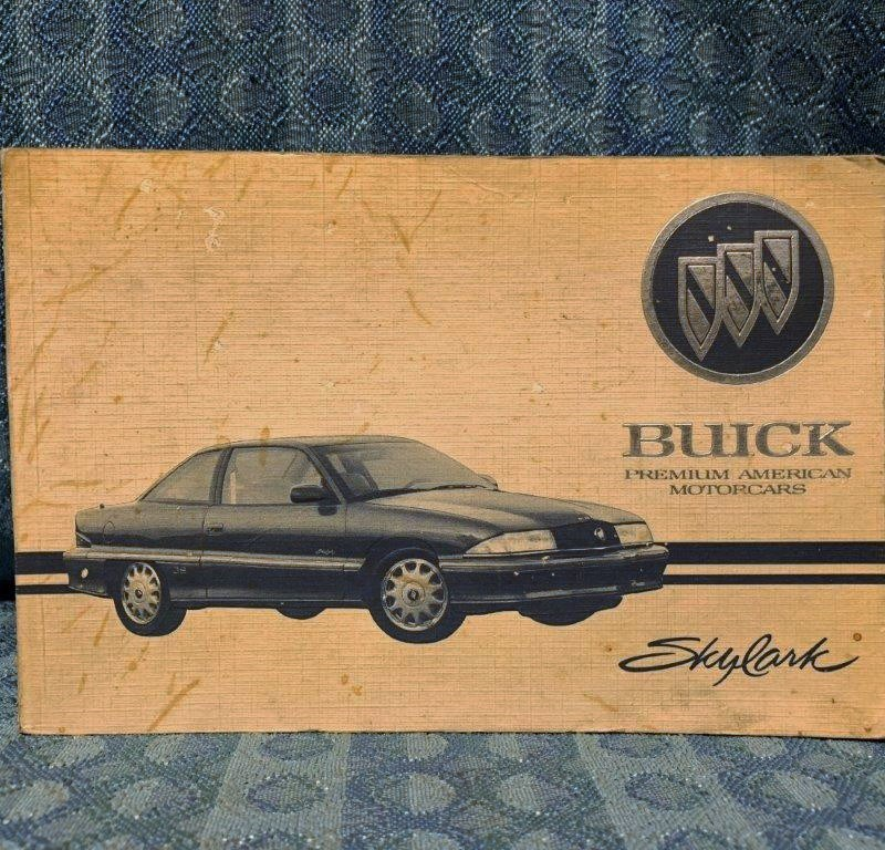 1994 Buick Skylark OEM Original Owners Manual