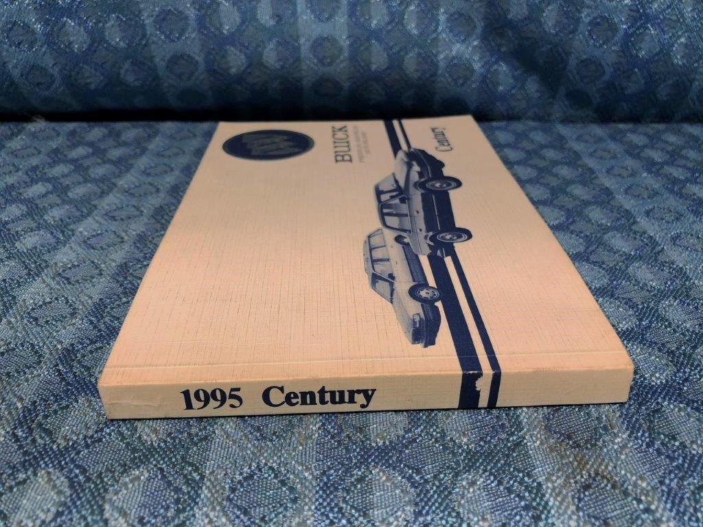 1995 Buick Century OEM Original Owners Manual