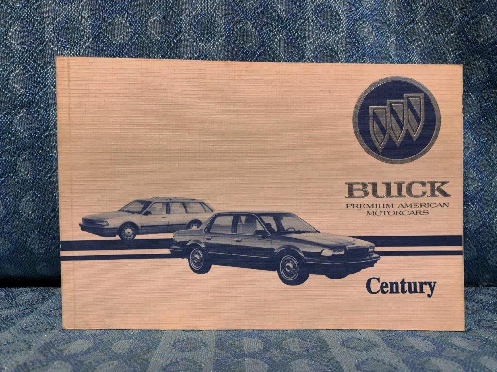 1995 buick century oem original owners manual nos texas parts llc rh nostexasparts com 1997 Buick Century 1995 buick century repair manual