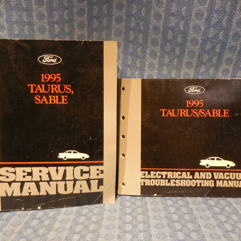 1995 Ford Sable / Probe Original Service + Troubleshooting Manual 2 Volumes