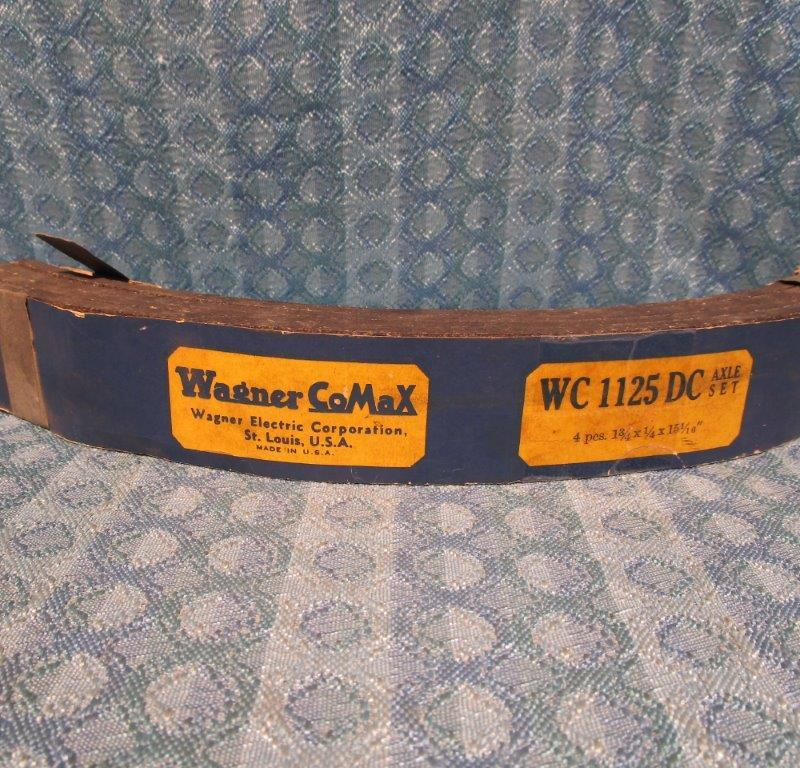 1941-1947 Dodge Truck NORS Brake Lining Set 1942 1946 # WC1125DC SEE DETAILED AD