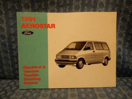 1991 Ford Aerostar OEM Electrical & Vacuum Troubleshooting Manual