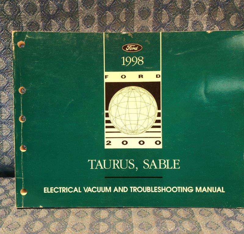 1998 Ford Taurus & Mercury Sable OEM Electrical & Troubleshooting Manual