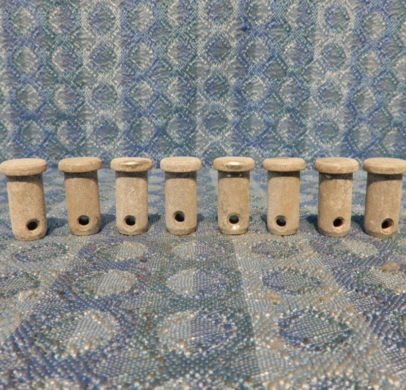 1928-1931 Ford Model A NORS Lot of 8 Brake Adjusting Shaft Pins 1929 30 #A-2027