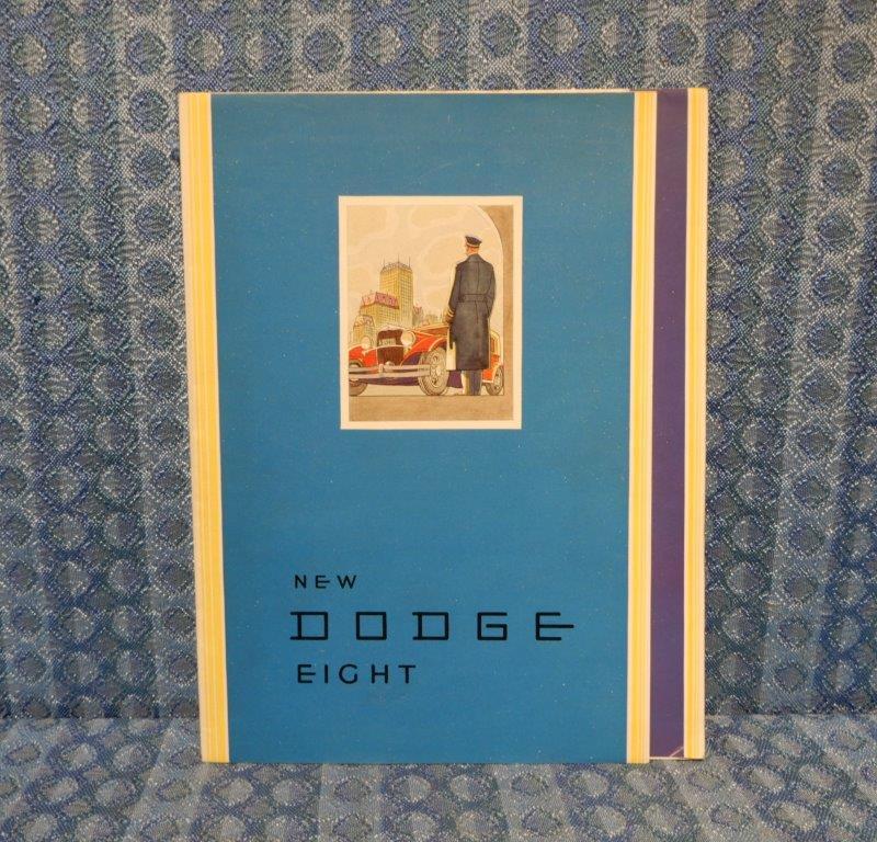 1931 Dodge Eight Original Sales Brochure / Poster - Full Color
