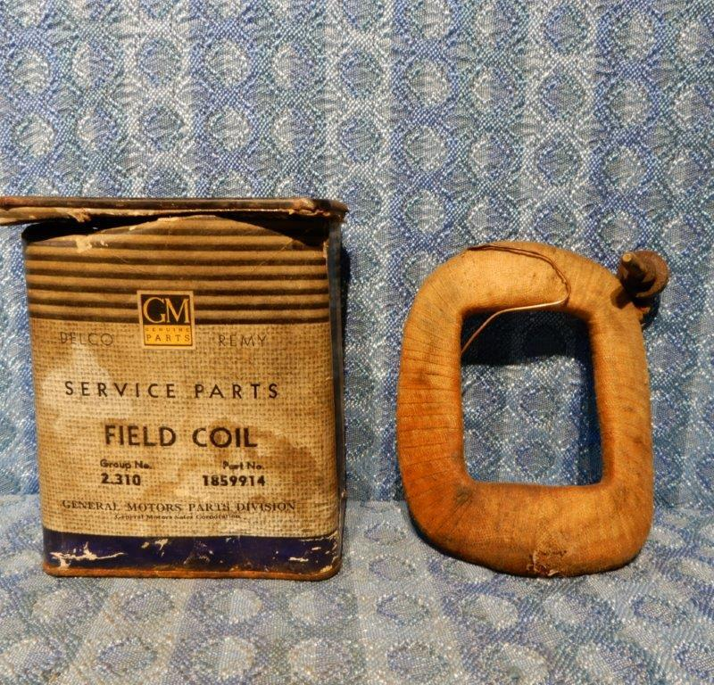 1935-39 Pontiac 1935-38 Olds 1937-39 Chevrolet NOS Gen Field Coil 1936 #1859914
