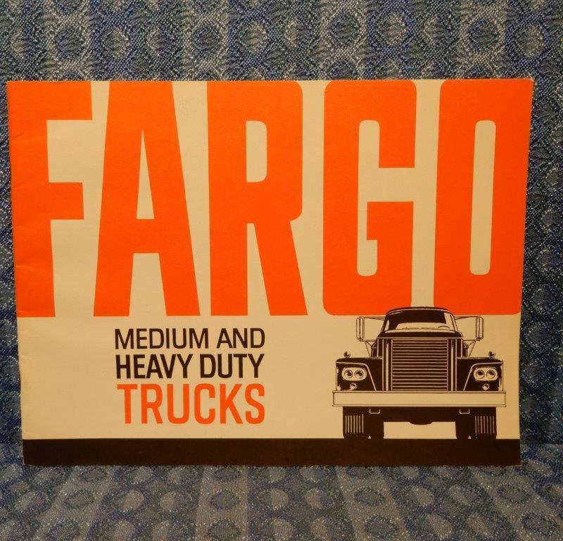 1964-1965 Fargo Medium & Heavy Duty Trucks Original Sales Brochure