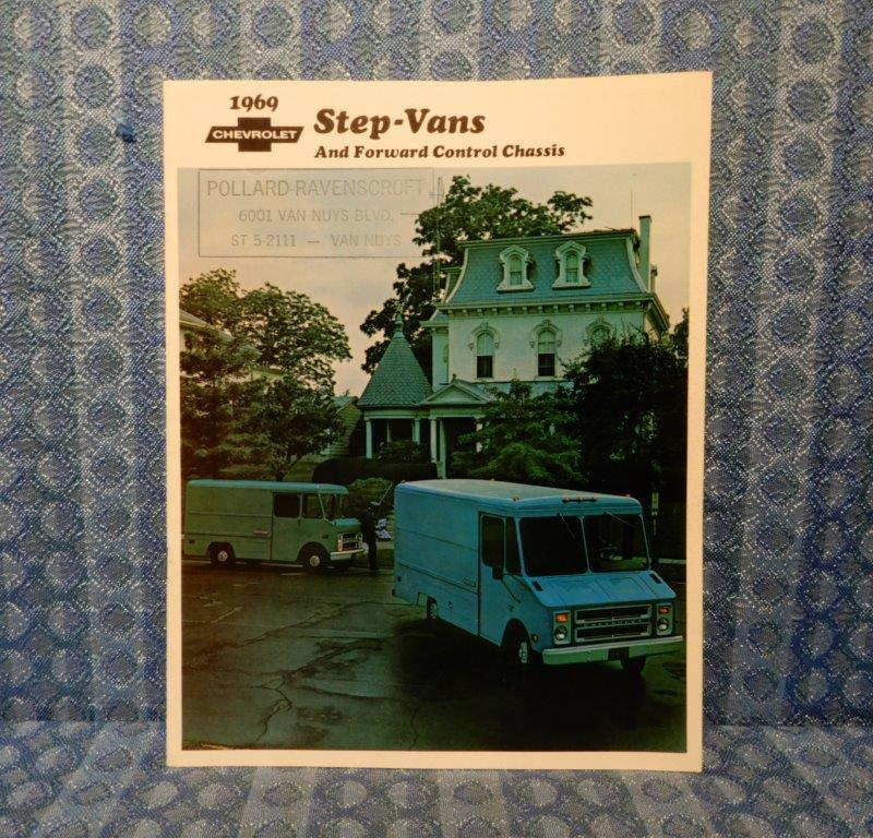 1969 Chevrolet Step Van & Forward Control Chassis Original Sales Brochure