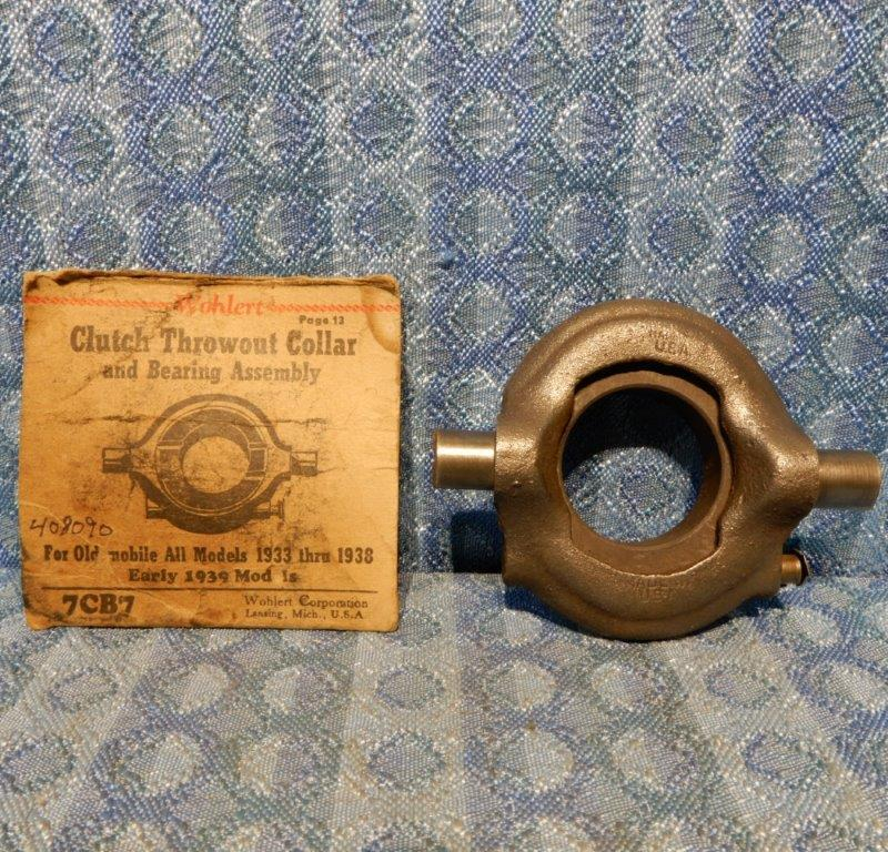1933-1938 Oldsmobile NORS Clutch Throwout Bearing 1934 35 36 37 Early 39 #408090