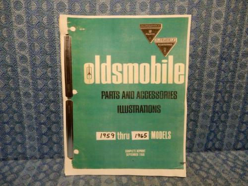 1959-1965 Oldsmobile Original Parts & Accessories Illustrations Catalog