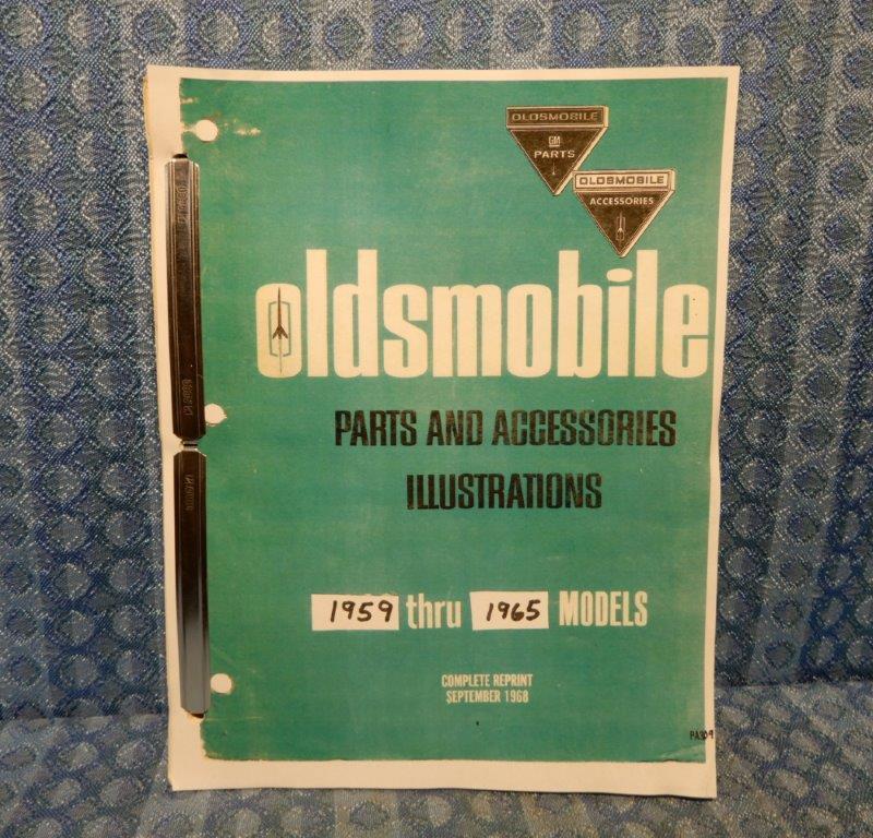 1959-1965 Oldsmobile Original Parts & Accessories Illustrations Catalog