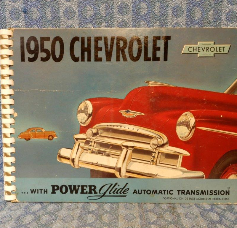 1950 Chevrolet Car Original Dealer Only Showroom Sales Album Bel-Air DeLuxe Spec