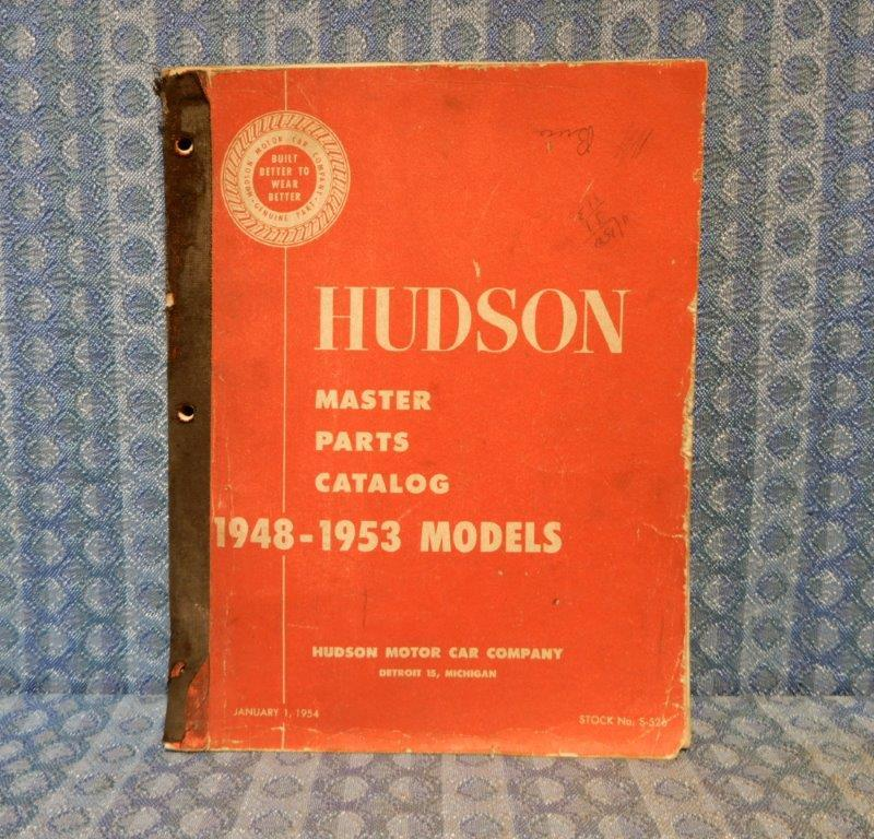 1948-1953 Hudson Original Master Parts Catalog 49 50 51 52 Commodore Super Wasp