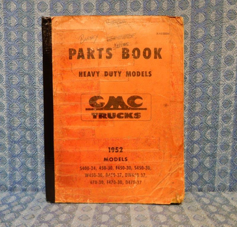 1952 GMC Truck 400 Series Original Parts Book / Catalog (SEE DETAILS IN AD)