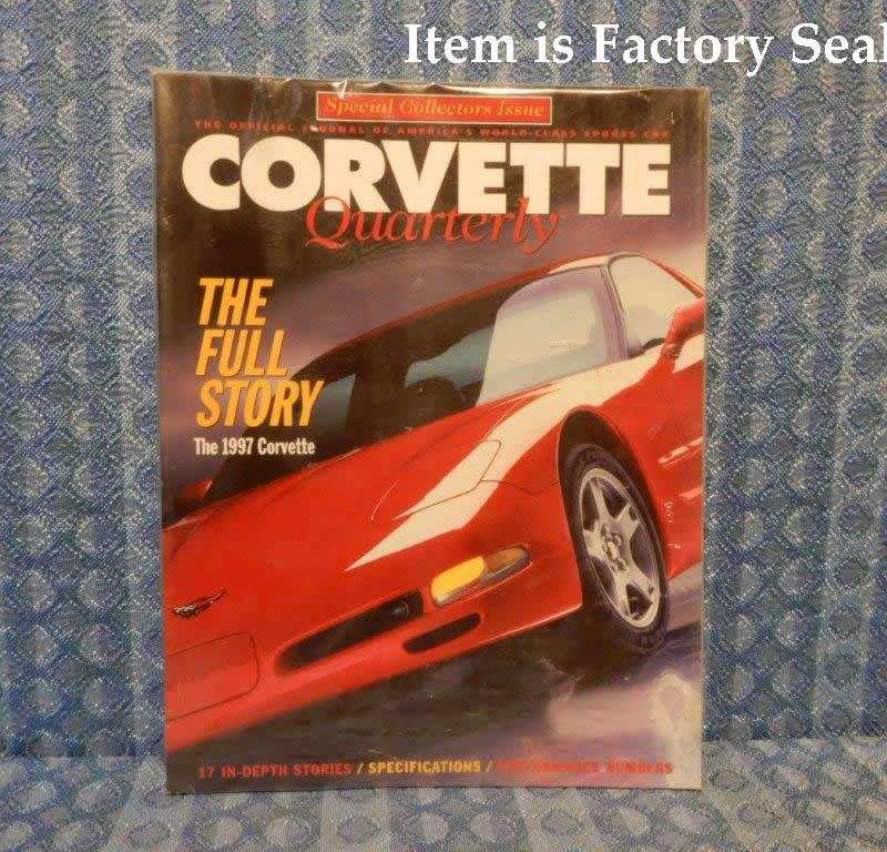 1997 Corvette Special Collectors Edition Corvette Quarterly - Factory Sealed
